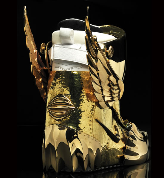 Gold Plated American Eagle Zf 1 Snowboard Boots By Osamu