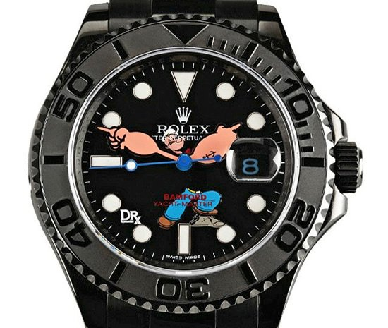 Popeye Yachtmaster Rolex Watch Lets The Sailor Keep A