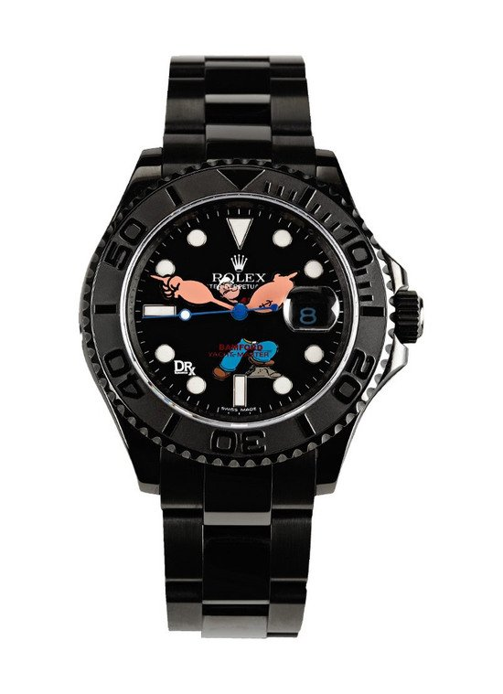 Popeye Yachtmaster Rolex Watch lets the sailor keep a check on time