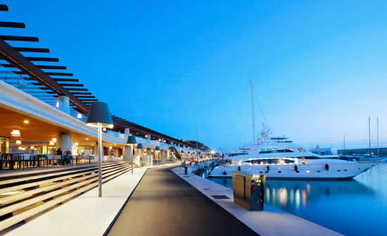 Philippe Starck lends a designer makeover to Port Adriano marina