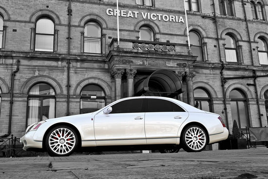 Project Kahns Wedding Commemorative Maybach 57 to celebrate the royal knot