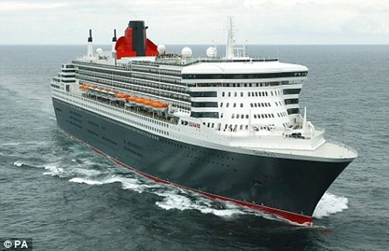 Queen Mary 2, world biggest cruise ship is now touted to be the filthiest