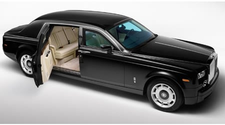 Rolls Royce to offer Armored Phantom for total protection