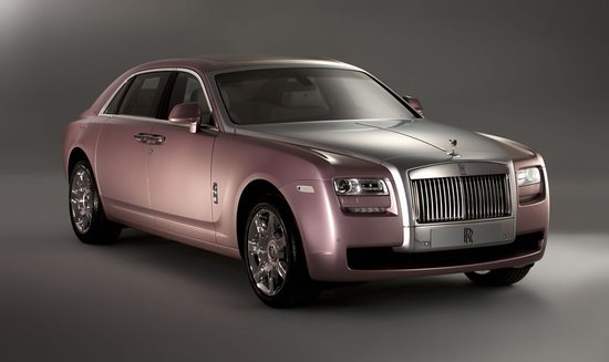 Rolls Royce Ghost Bespoke Personalization options are a favorite with customers