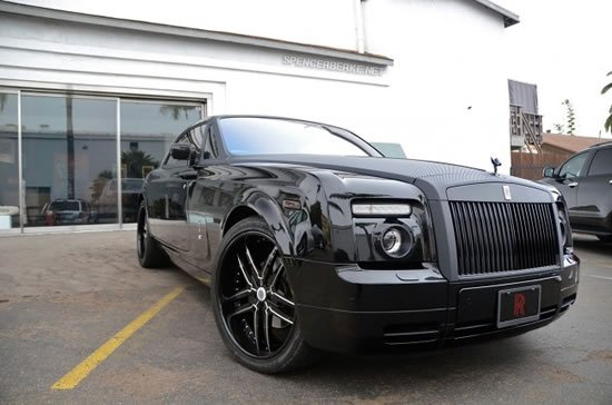 Rolls Royce Phantom Coupe In Carbon Wrap