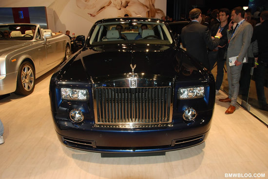 The Rolls Royce Phantom Spirit of Ecstasy Edition unveiled at the New York Motor Show