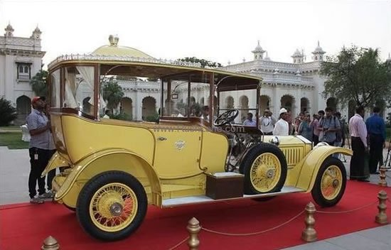 The 100 Year Old Rolls Royce Silver Ghost From India Is