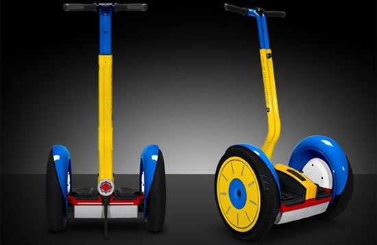 Colorware customizes the colors of the Segway i2 for a price