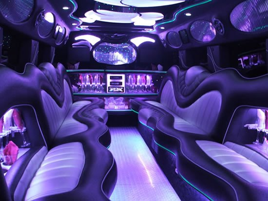 Bullet Proof Car >> Silver Hummerzine is a rare luxury Hummer Limo to party on ...