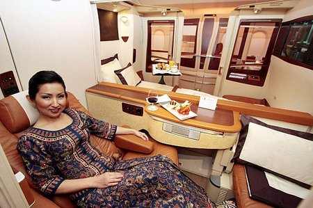 Singapore Airlines Airbus A380 Launches Luxurious Super