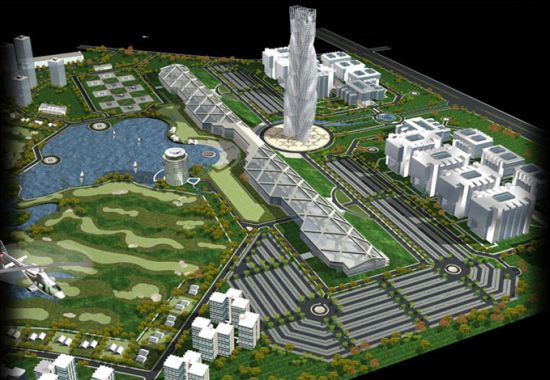 Circuit board shaped city to come up near Indias silicon valley