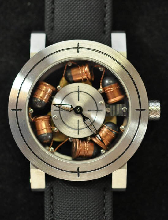 Artya's one off Son of a Gun watch targets time with real bullets