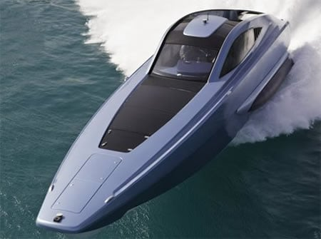 The XSR48 - World's fastest diesel powered super boat