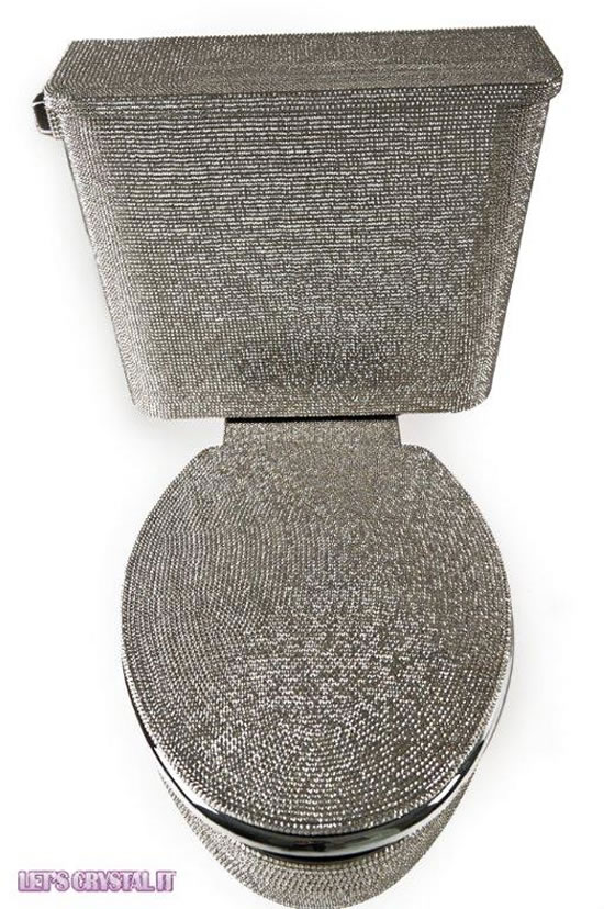 A 25000 Toilet Is Studded With Over 10 000 Swarovski