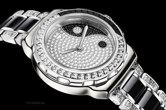 Tag Heuer Formula 1 Lady Yin Yang debuts at the Baselworld 2012
