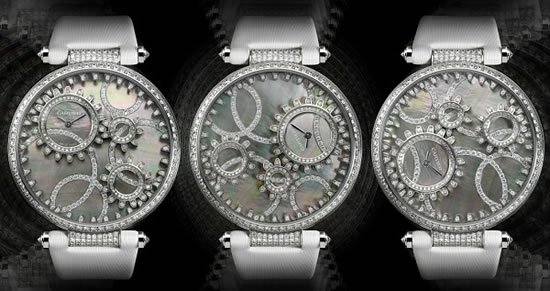 Temps Moderne de Cartier watch is a diamond-studded beauty