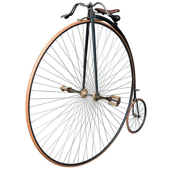 The Royal 19th Century Bicycle Is A Rolling Beauty