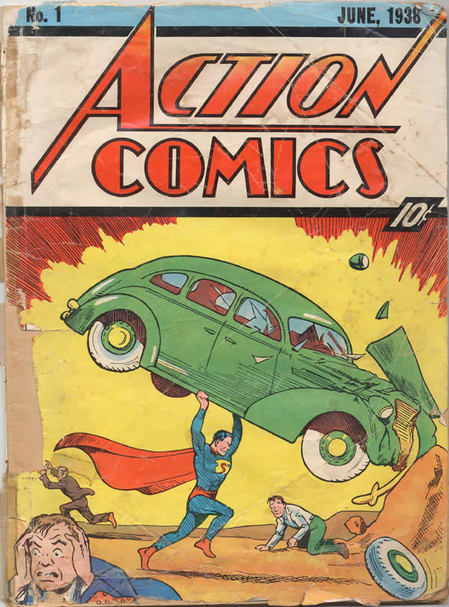 Supermans first issue is the most expensive comic auctioned off for $317,200