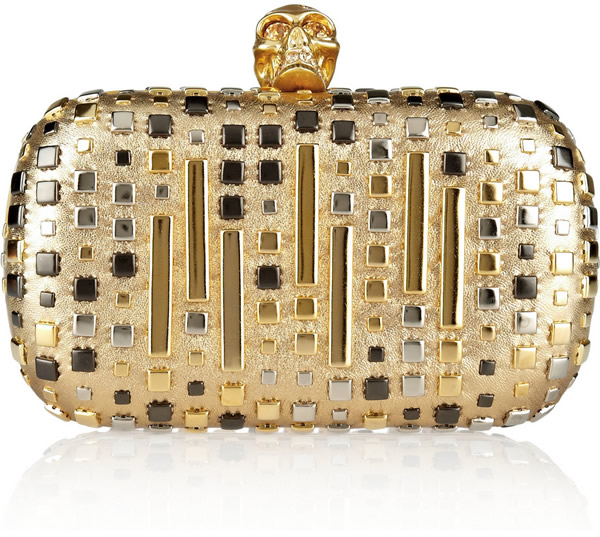 Alexander McQueen's Brass Knuckle Clutch In Pepto Pink On Sale | Vancouver Fashion + Style Blog