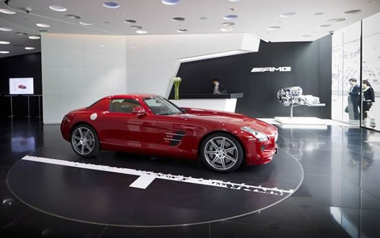 The worlds first AMG showroom opens in Beijing