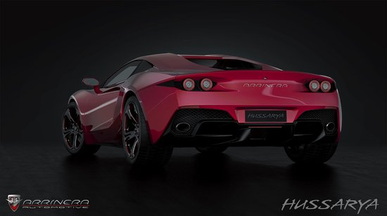 Arrinera Husserya a striking supercar from Poland