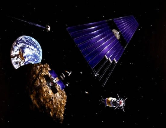 Billionaires including James Cameron and Larry Page plan to mine asteroids