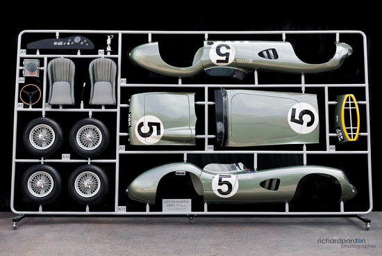 A 1:1 scale model of Aston Martins 1959 Le Mans winner to go under the hammer