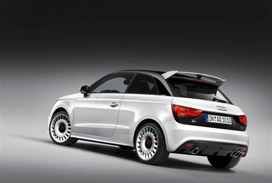 audi a1 quattro limited edition packs 252 hp. Black Bedroom Furniture Sets. Home Design Ideas