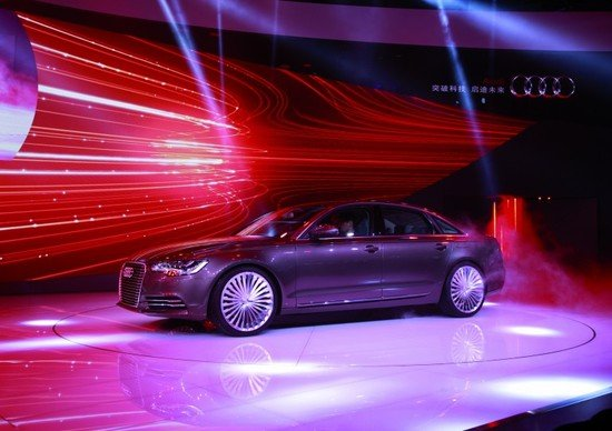 audi a6 l e tron plug in hybrid concept sedan unveiled. Black Bedroom Furniture Sets. Home Design Ideas