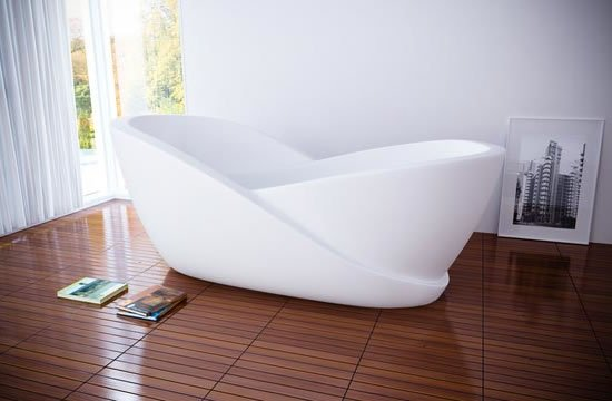 Hi Tech Infinity Bathtub With Mini Computer For The Future