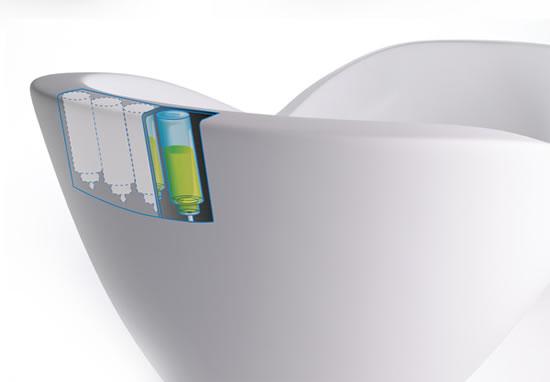 Hi Tech Infinity Bathtub With Mini Computer For The Future