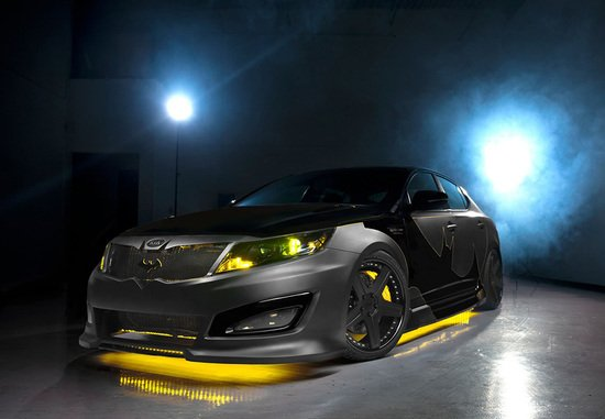 One off Batman inspired Kia Optima SX unveiled