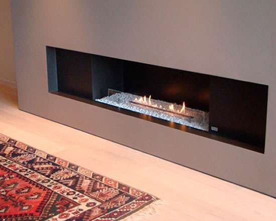 A cozy and classy bioethanol fireplace Bio-oh! by Puur Vuur Belguim -