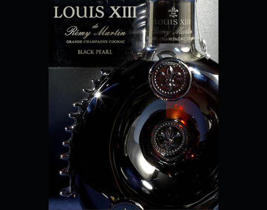 Well travelled Rémy Martin Black Pearl Cognac is on sale at Bonhams