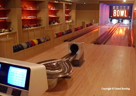 Personal Bowling Alley in your home for $88,000