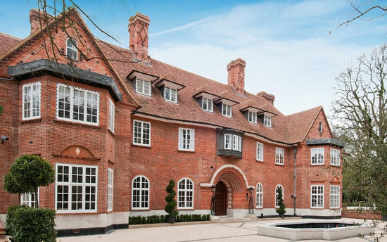 Health Hall becomes Britain's most expensive home at £100 million
