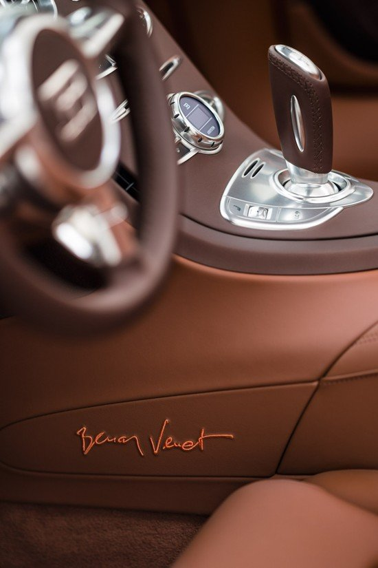 Bugatti Veyron Grand Sport Venet features a French makeover