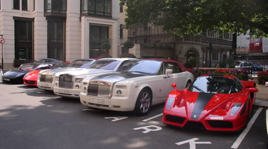Ferrari, Rolls Royce and Lamborghini are not the most popular cars of America's wealthiest zip codes