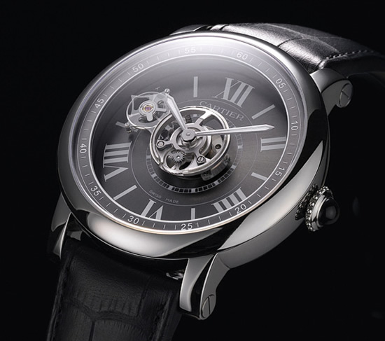 Cartier Astrotourbillon Carbon Crystal watch launched