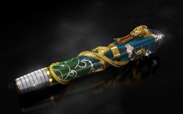 Montegrappa unveils a million dollar Centennial Dragon pen