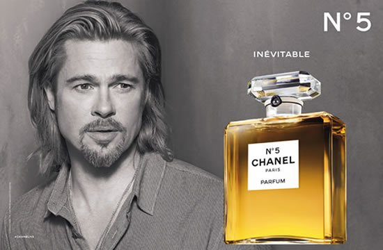 The Chanel N°5 Film starring Brad Pitt