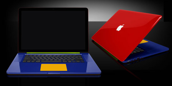 ColorWare optimizes the new MacBook Pro with brilliant colors