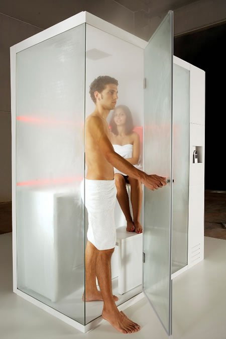 Revolution Shower Cubicle By Carmenta A Compact Spa For