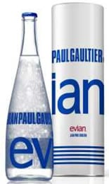 Evian announces designer bottles in collaboration with Jean Paul Gaultier