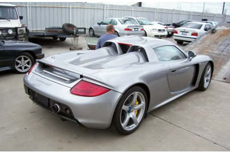 The Carrera GT Up For Sale Is In Fact One Of Two Such Cars That Were Used  In Making The Movie. Though Itu0027s Not The Car That Gets Thrown Off A Cliff,  ...