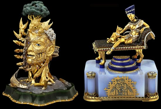 Faberge styled figurine collection worth $4.4 million is available for collectors