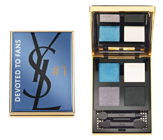 Yves Saint Laurents Facebook inspired make up palette is devoted to their fans