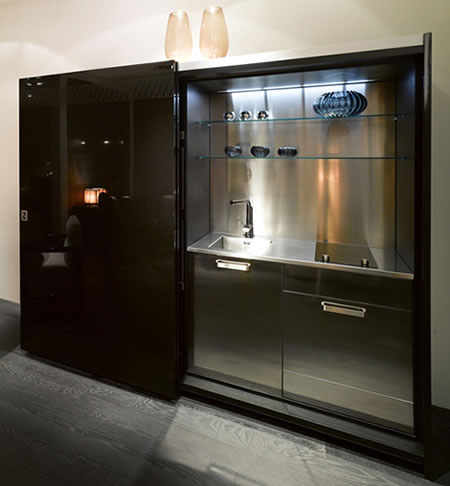 Fendi Casa impresses with unique Concealed Kitchen
