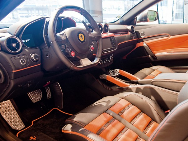 Ferrari's FF Special Edition custom made for a Czech buyer