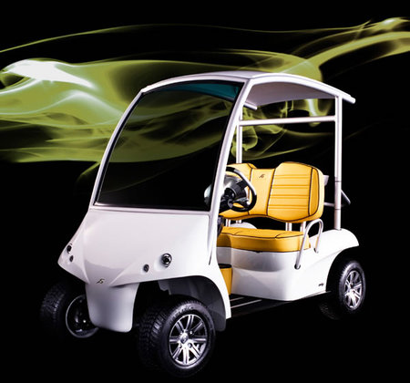 Garia Golf cart is convenient to cart around